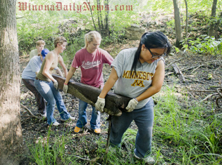 A summer river clean-up started by Mississippi River Revival has engaged thousands of citizens in our watershed and removed hundreds of thousands of pounds of debris since 1980.